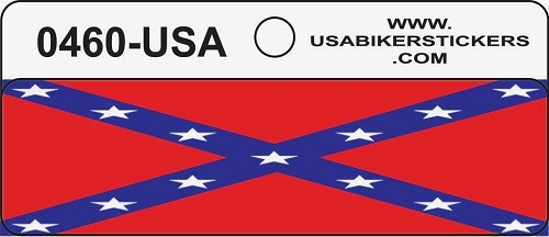 CSA Flag Motorcycle Helmet Sticker