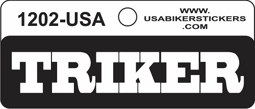 TRIKER HELMET STICKER